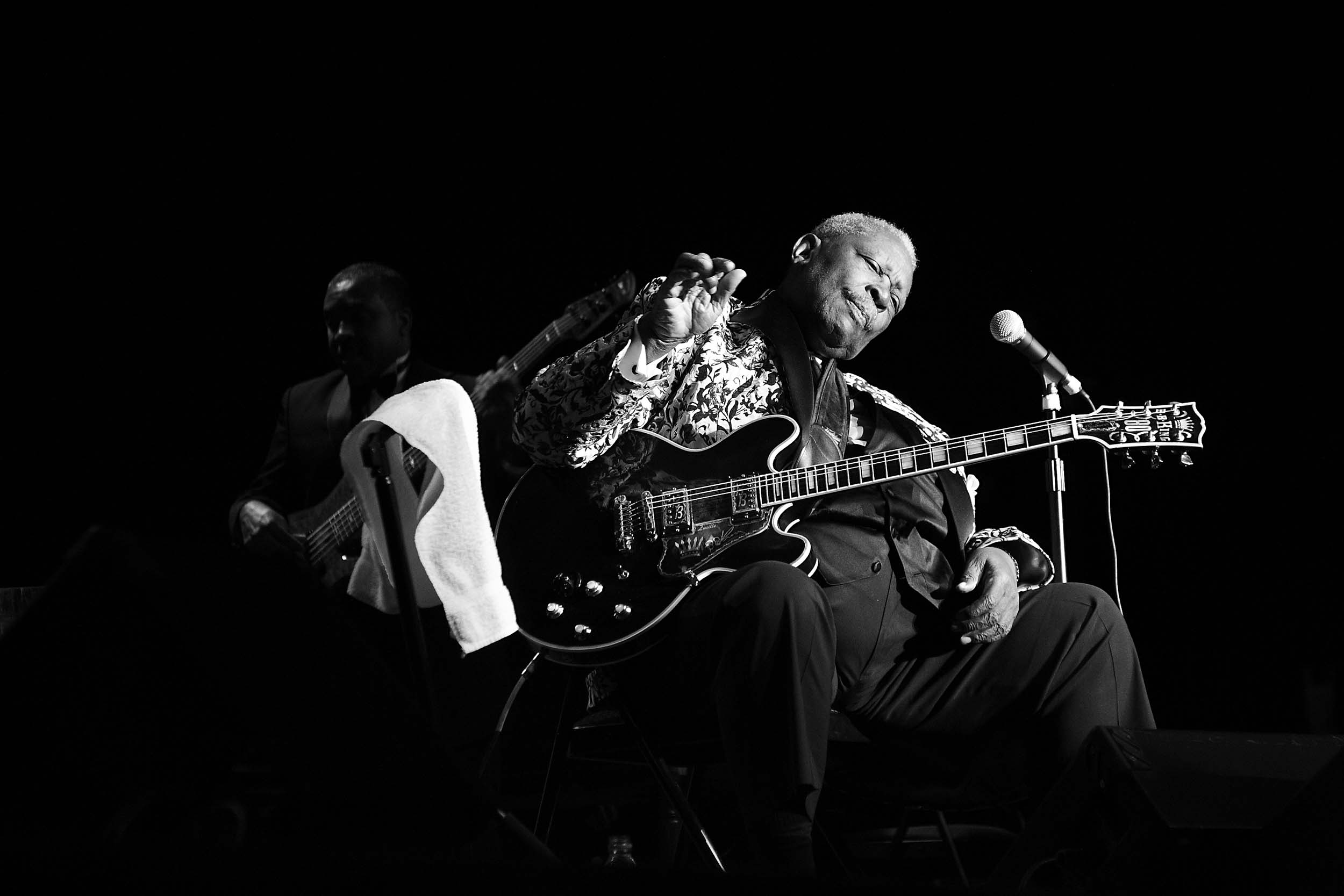 BB King B&W 1