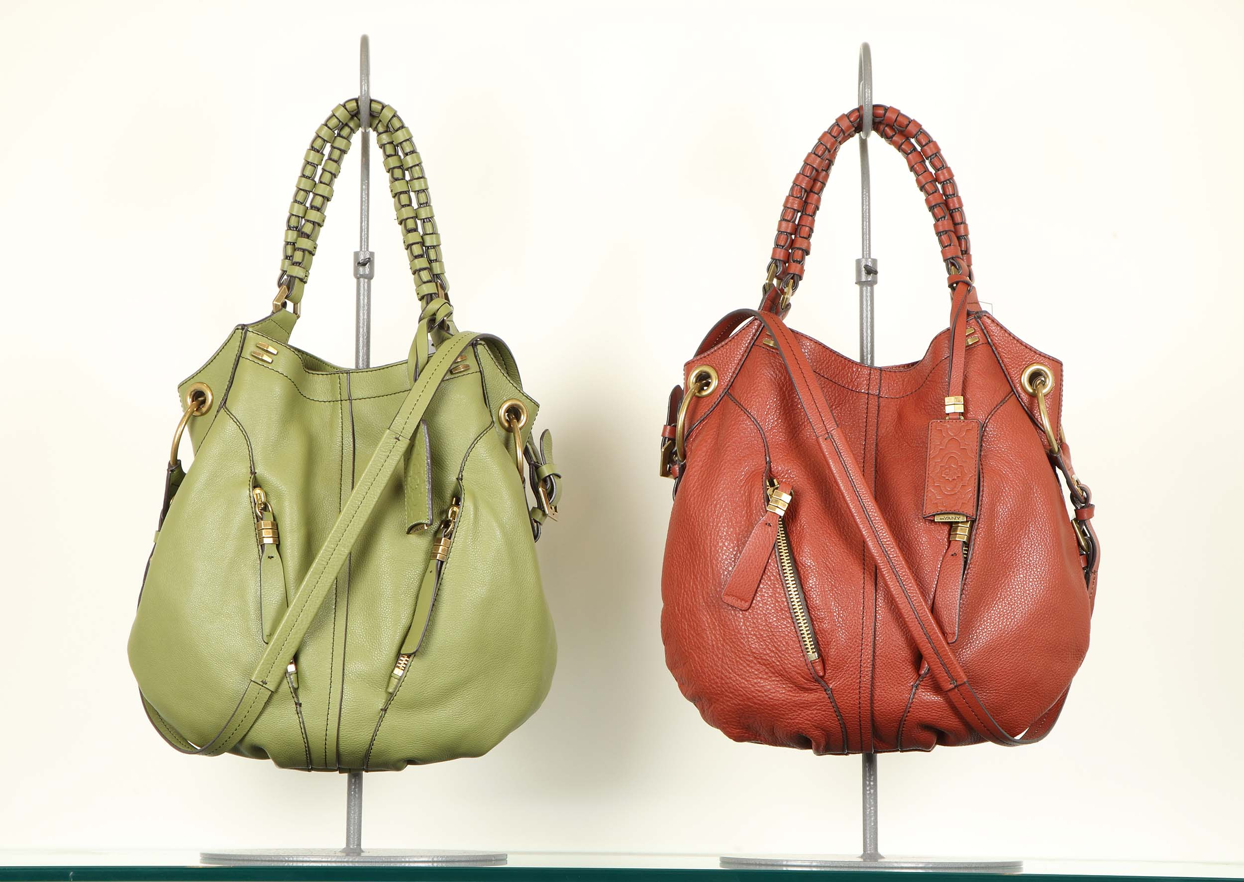 Handbag (Green and Red)